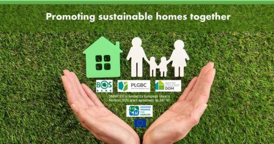 Bank Ochrony Środowiska and Polish Green Building Council promote sustainable homes together