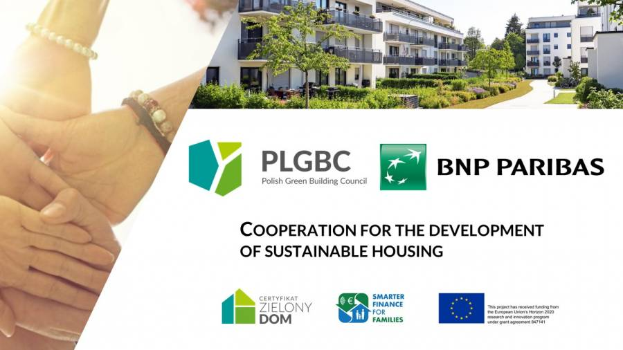 BNP Paribas and Polish Green Building Council cooperate to accelerate sustainable housing in Poland